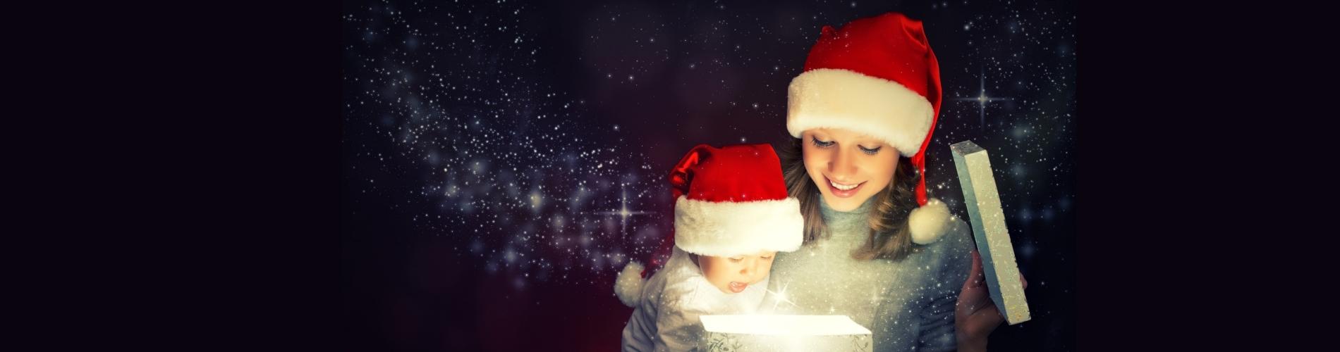 Box Cadeau Premier Noël Maman Bébé